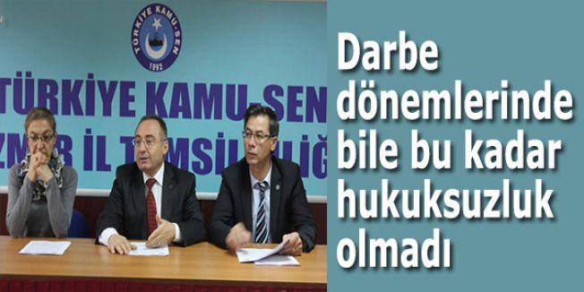 Türk Eğitim Sen: Darbe dönemlerinde bile bu kadar hukuksuzluk olmadı