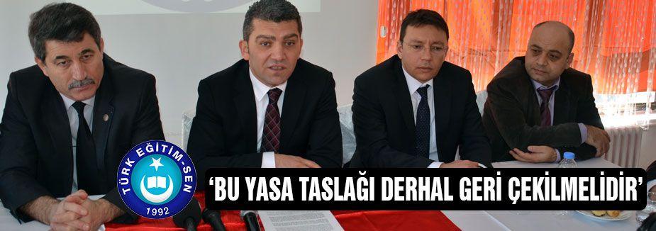Türk Eğitim-Sen'den Basın açıklaması
