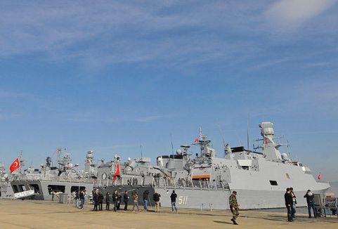 Türk gemileri Senegal ve Gambiya'da