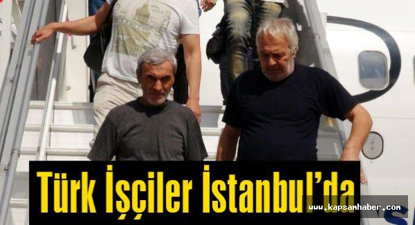 Türk İşçiler İstanbul'da...
