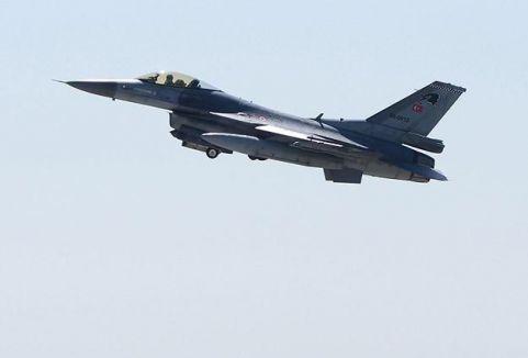 Türk jetlerine Suriye'den