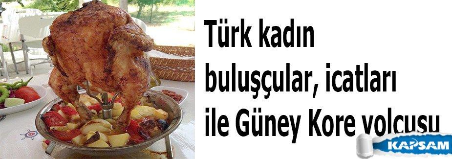Türk kadın buluşçular, icatları ile Güney Kore yolcusu