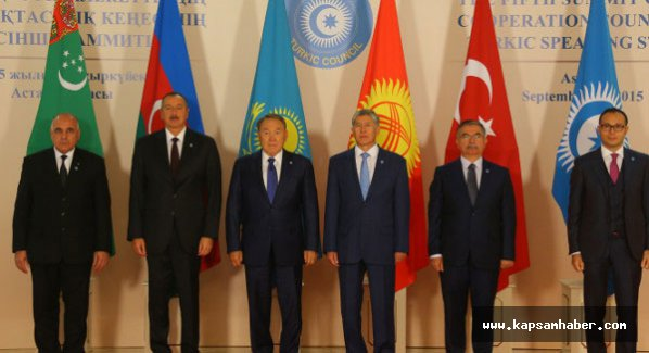 Türk Konseyi Lider Zirvesi Astana'da yapıldı