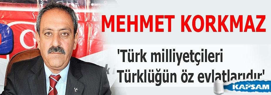 'Türk milliyetçileri Türklüğün öz evlatlarıdır'