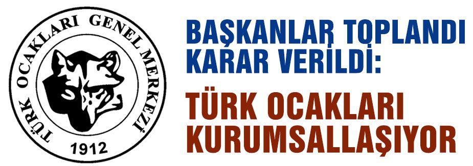 """Türk Ocaklarından """"ŞAHLANIŞ"""" TOPLANTISI"""