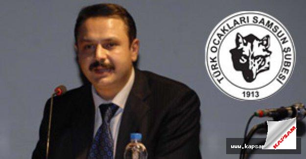 Türk Ocakları Samsun Şube Başkanlığında Görev Değişimi.
