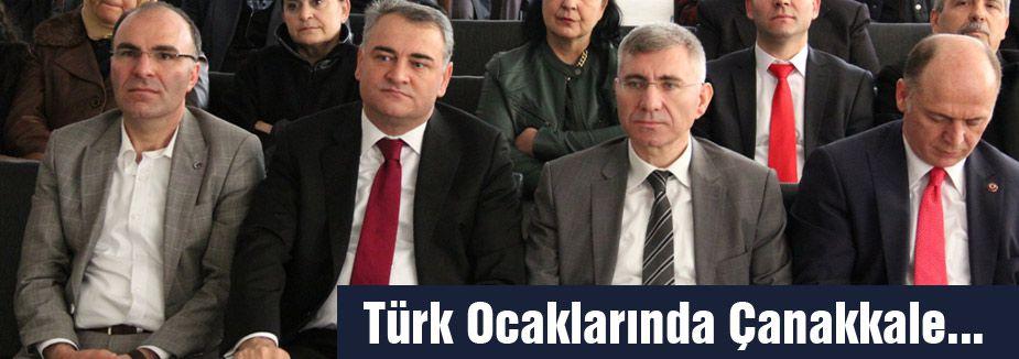 Türk Ocaklarında Çanakkale...
