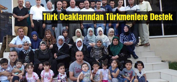 Türk Ocaklarından Türkmenlere Destek