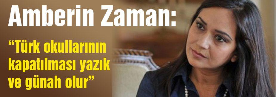 Türk okullarının kapatılması yazık...