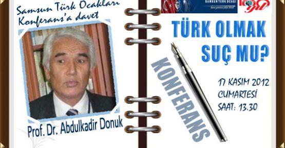 Türk Olmak Suç mu?