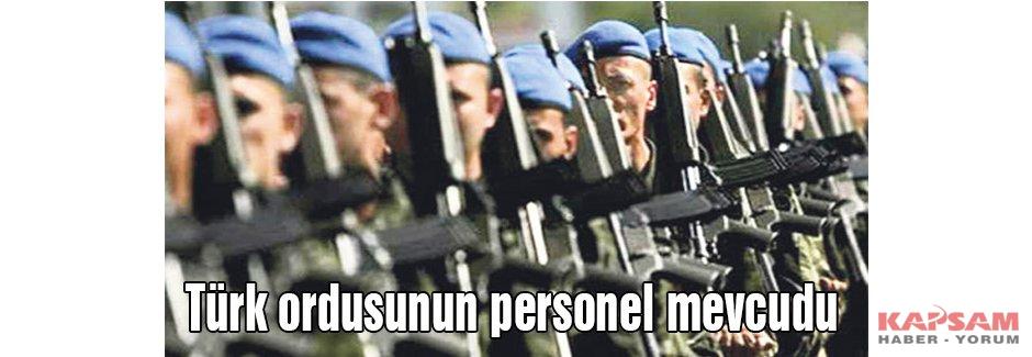 Türk ordusunun personel mevcudu