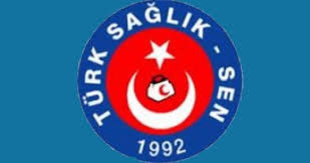 Türk Sağlık-Sen üyeleri iş bıraktı