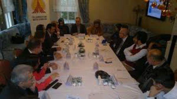 Türk ve Afgan gazeteciler bir araya geldi...