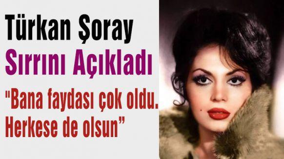 Türkan Şoray Sırrını Açıkladı...