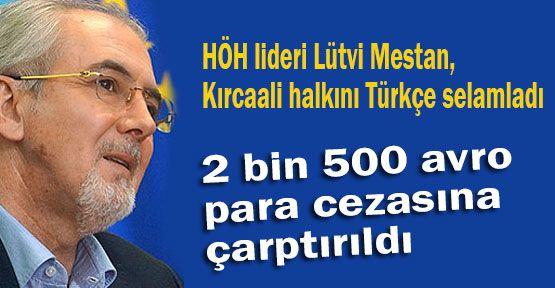 Türkçe Konuşan Vekile Ceza...