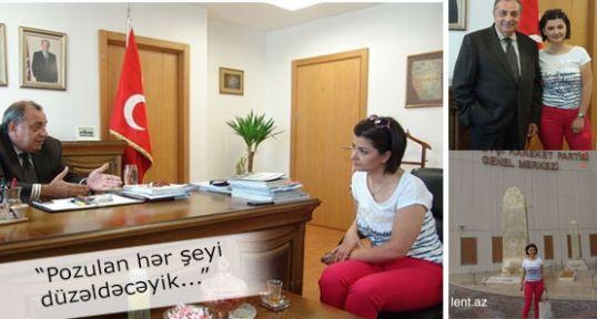 """Türkeş: """"Pozulan hər şeyi düzəldəcəyik..."""