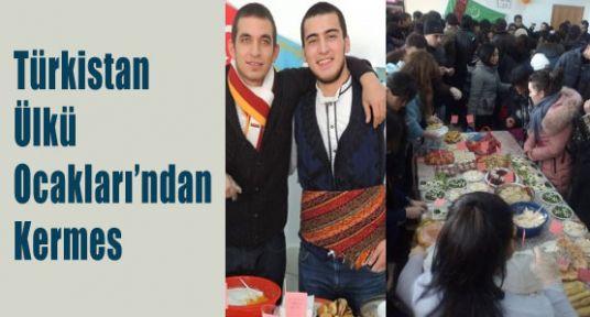 Türkistan Ülkü Ocakları'ndan Kermes