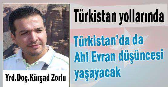 Türkistan yollarında...
