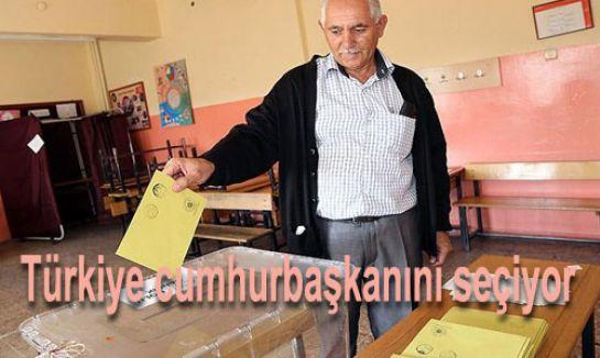 Türkiye cumhurbaşkanını seçiyor...
