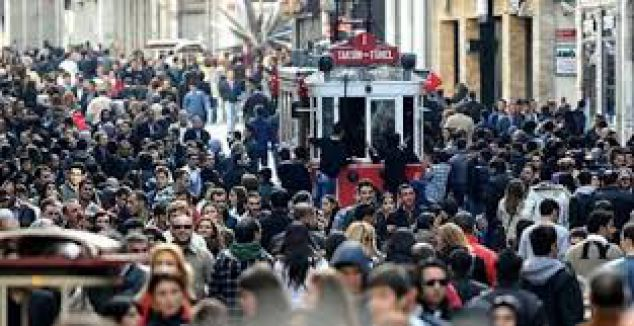 Türkiye dünyanın en kalabalık 19. ülkesi