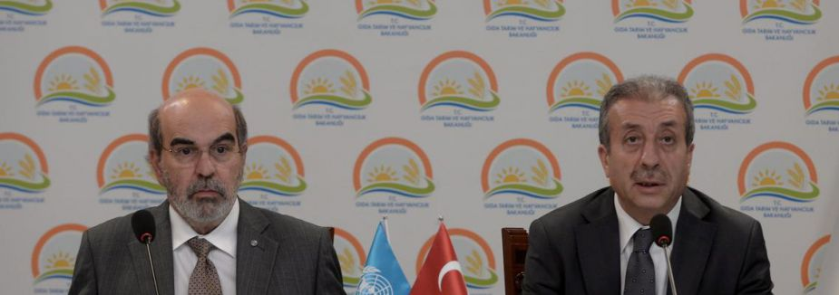 Türkiye FAO ile anlaşma yeniledi...