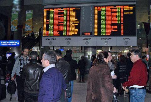 Türkiye havada rekor kırdı...