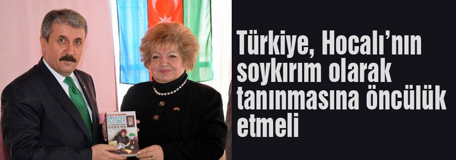 'Türkiye, Hocalı'nın soykırım olarak tanınmasına öncülük etmeli'