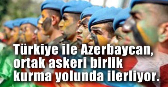 Türkiye ile Azerbaycan Askeri Birlik Oluşturuyor