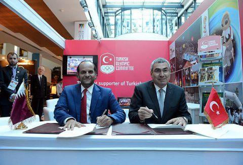 Türkiye ile Katar arasında iş birliği protokolü...