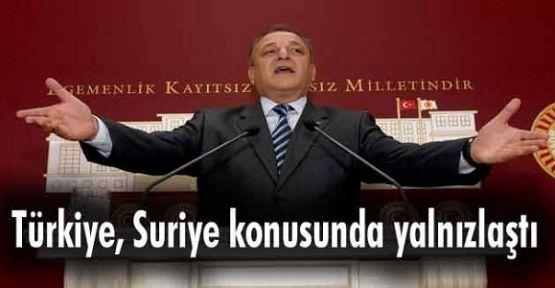 Türkiye, Suriye ile başbaşa bırakıldı
