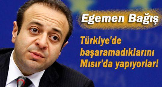 Türkiye'de başaramadılar Mısır'da yaptılar