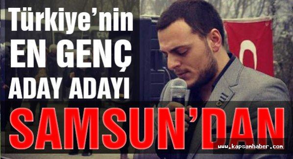 Türkiye'nin En Genç Milletvekili Aday Adayı  MHP'de