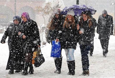 Türkiye'ye kar geliyor...