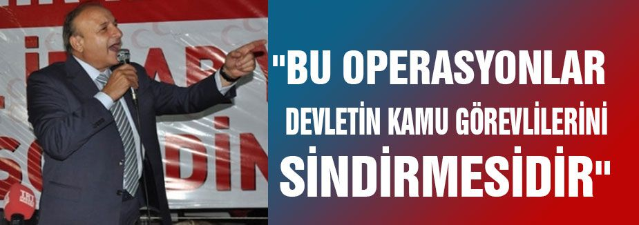'TÜRKİYE'Yİ RÜŞVET VE YOLSUZLUK ÇETESİ YÖNETİYOR'