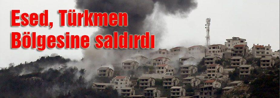 Türkmen bölgesine saldırı