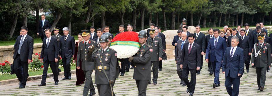 Türkmenistan Devlet Başkanı Ankara'da