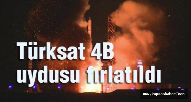 Türksat 4B uydusu 23.40'da fırlatıldı