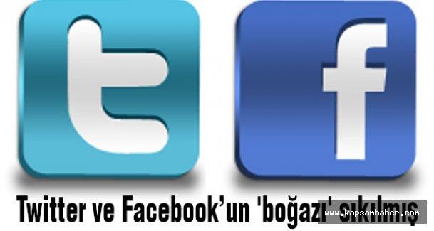 Twitter ve Facebook'un 'boğazı' sıkılmış
