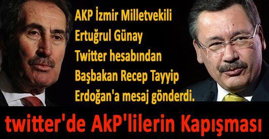 twitter'de AkP'lilerin Kapışması