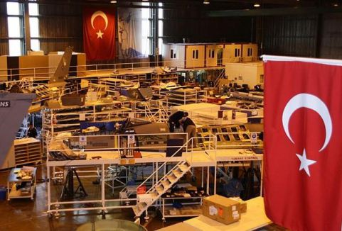 Uçak Motoru Üretimine Start Verildi...