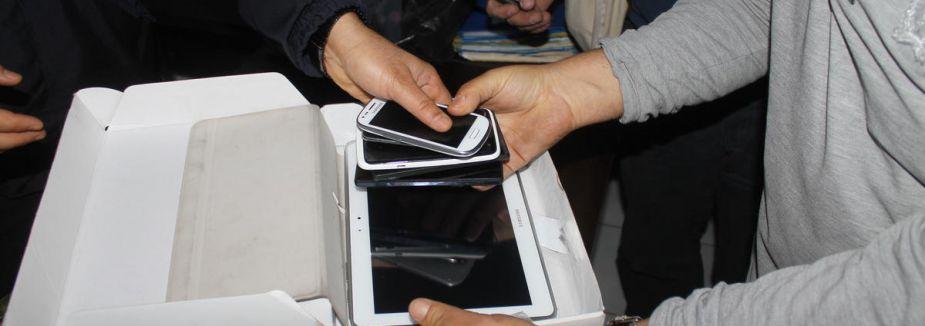 Ucuz tablet bilgisayar ve cep telefonuna dikkat...