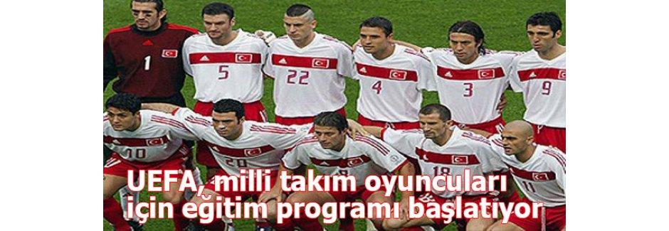 UEFA, milli takım oyuncuları için eğitim programı başlatıyor