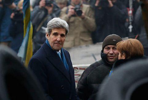 Kerry,: Ukrayna halkının yanında olacağız...