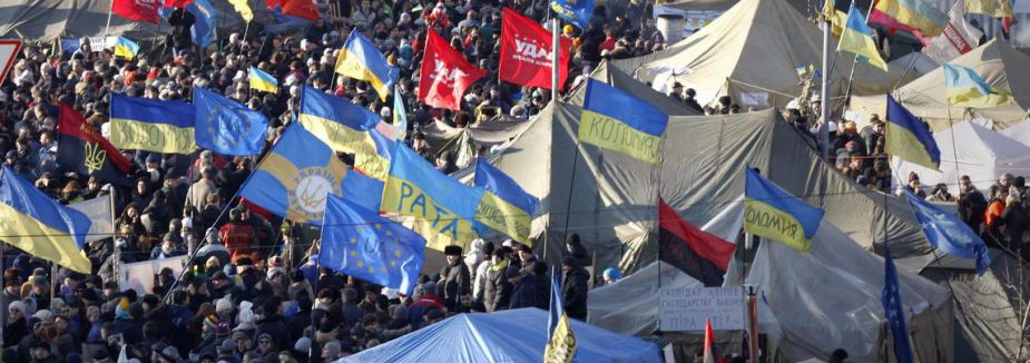 Ukrayna'da göstericilere af...