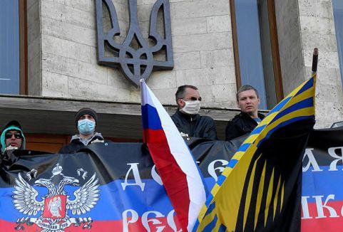 Ukrayna'nın doğusu Karıştı...