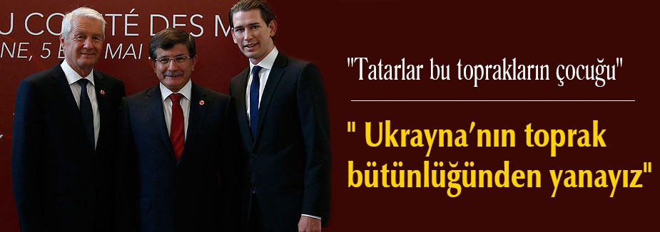 """"""" Ukrayna'nın toprak bütünlüğünden yanayız"""""""