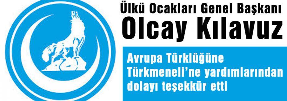 Ülkü Ocakları Avrupa'daki Türkler'e Teşekker Etti