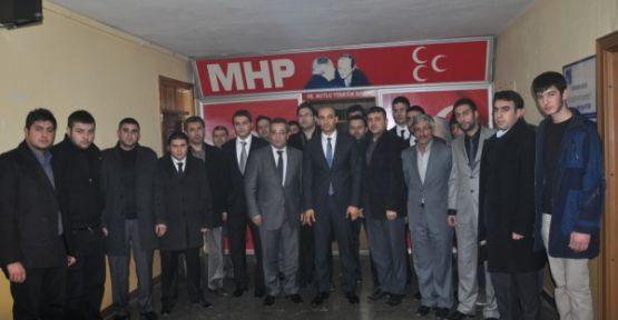 Ülkü Ocakları Genel Başkanı Kılavuz Anadolu Ziyaretlerinde