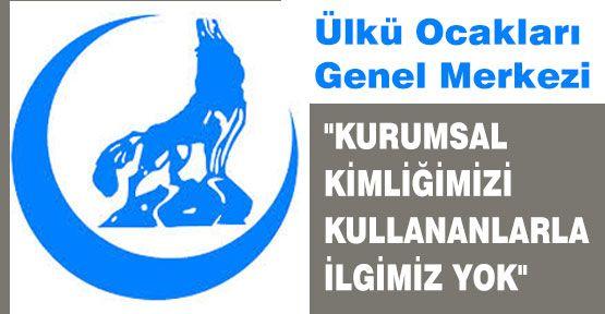 Ülkü Ocakları'ndan 'Gezi Park' Basın Açıklaması