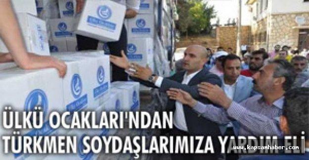 Ülkü Ocaklarından Türkmenlere Yardım
